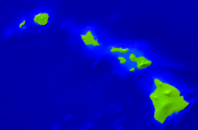 USA-Hawaii Vegetation 1000x656